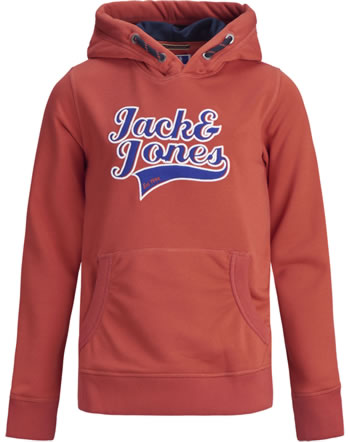 Jack & Jones Junior Hoodie JORAYDON chili  12168375