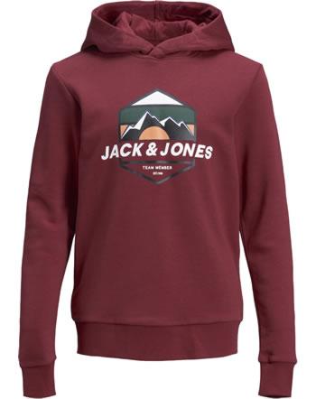 Jack & Jones Junior Sweat Hood JORDEHSEL sun dried tomato 12181024
