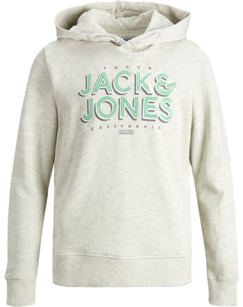 Jack & Jones Junior Hoodie JORVENICEBEACH white 12175558