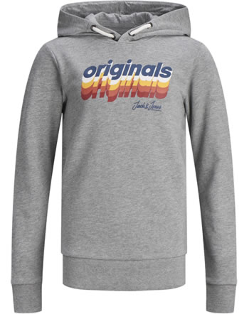 Jack & Jones Junior Hoodie JORVENTURE light grey m. 12168371