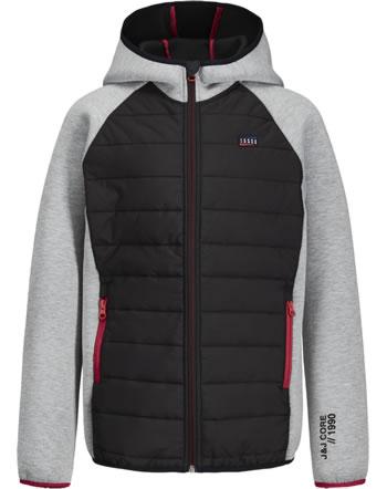 Jack & Jones Junior Jacket with hood JCOTOBY NOOS light grey melange 12168200