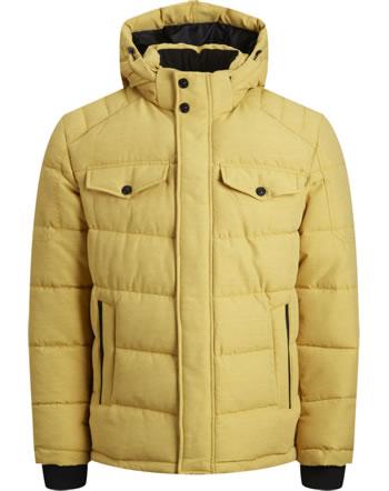 Jack & Jones Junior Jacket with hood JJREGAN PUFFER spicy mustard 12174333