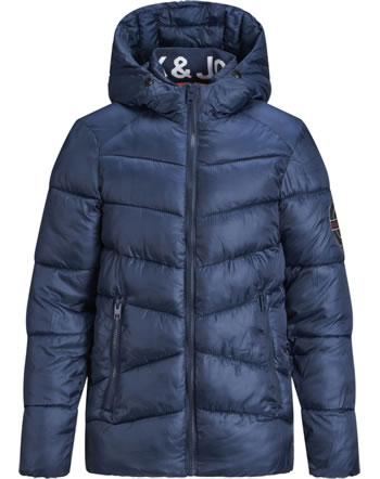 Jack & Jones Junior Jacket with hood JORANDER PUFFER JACKET navy blazer 12177064