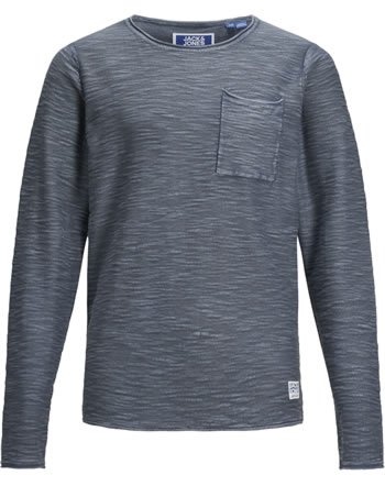 Jack & Jones Junior Pullover Langarm JORNIELS KNIT ensign blue 12171731