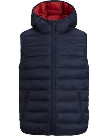 Jack & Jones Junior Vest with hood JJEMAGIC navy blazer 12177371