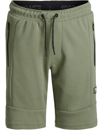 Jack & Jones Junior Sweat-Shorts JJIAIR oil green 12189855