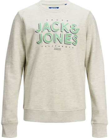 Jack & Jones Junior Sweatshirt JORVENICEBEACH white melange 12171736