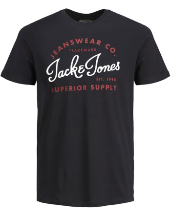 Jack & Jones Junior T-shirt NOOS manches courtes black 12158430