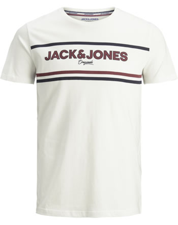 Jack & Jones Junior T-shirt manches courtes cloud dancer 12159322