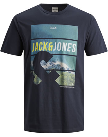 Jack & Jones Junior T-shirt manches courtes JCOFRIDAY sky captain 12167701