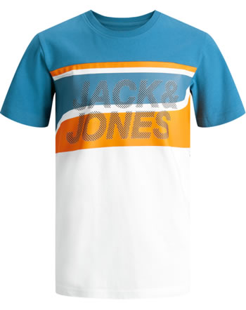 Jack & Jones Junior T-Shirt Kurzarm JCORESIST deep water 12188532
