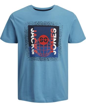 Jack & Jones Junior T-shirt short sleeve JCOSPLATTER cendre blue 12176867