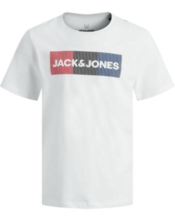 Jack & Jones Junior T-Shirt Kurzarm JJECORP NOS white detail:play 12152730