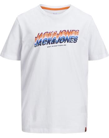 Jack & Jones Junior T-shirt manches courtes JJORTYLER white 12186783