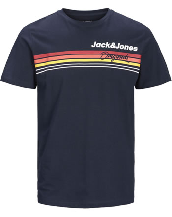 Jack & Jones Junior T-shirt manches courtes JORVENTURE navy blazer 12174920