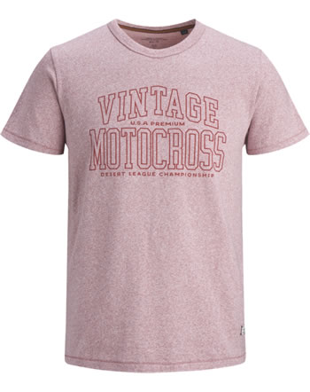 Jack & Jones Junior T-shirt manches courtes JPRKEEGAN red dahlia 12171858