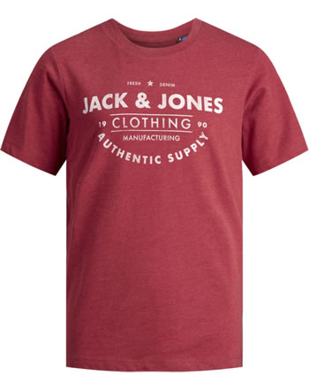 Jack & Jones Junior T-shirt NOOS manches courtes rio red 12158416