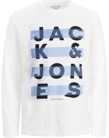 Jack & Jones Junior T-shirt manches longes JCOJUMBO white 12182147