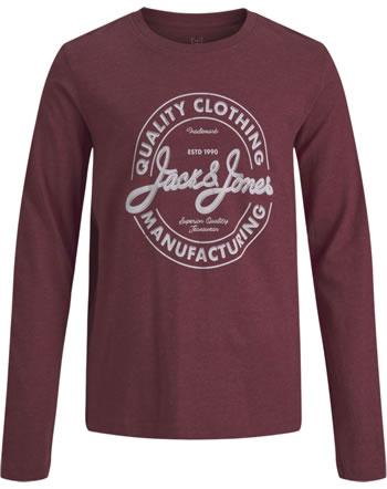 Jack & Jones Junior T-Shirt Langarm JJEJEANS NOOS red dahlia 12190513