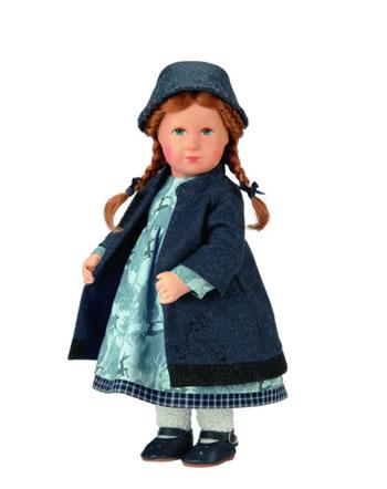 Kathe Kruse doll child love daisies 32 103