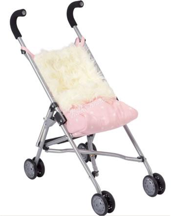 Käthe Kruse Poussette pour la poupée rose polaire 0179306