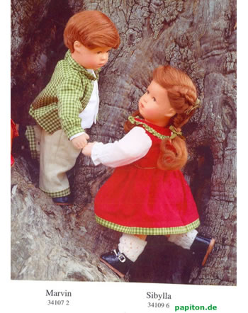 Käthe Kruse Puppe Marvin 34107 -.-