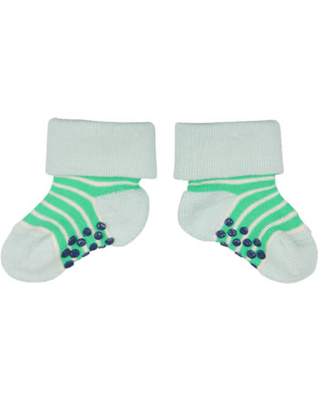 loud + proud Stopper-Socken Streifen verde GOTS 819-ve
