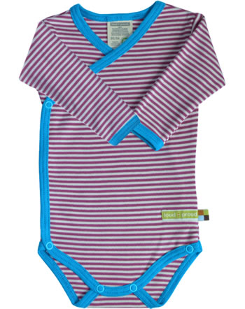 loud + proud Langarm-Wickel-Body BASIC fuchsia kbA 230-fu