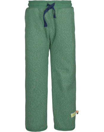 loud + proud Trousers with cuffs FOREST ANIMALS ivy 4128-ivy GOTS