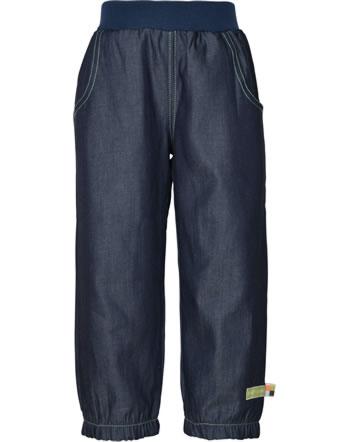 loud + proud Jeans pants FOREST ANIMALS ultramarin 4132-ul GOTS