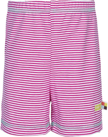 loud + proud Jersey-Shorts RINGEL azalea 4071-aza GOTS