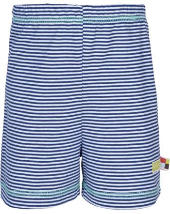 loud + proud Jersey-Shorts RINGEL ultramarin 4071-ul GOTS