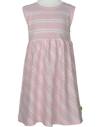 loud + proud Dress sleeveless with linen UNDER THE SEA rosé 6043-rs GOTS