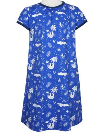 loud + proud Dress JUNGLE cobalt 6026-cob GOTS