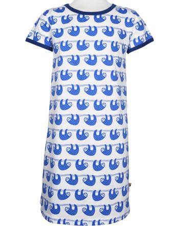 loud + proud Dress SLOTH cobalt 6024-cob GOTS