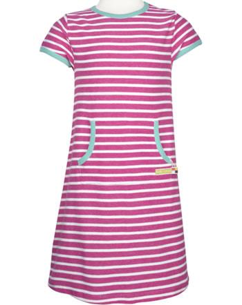 loud + proud Dress STRIPES azalea 6028-aza GOTS