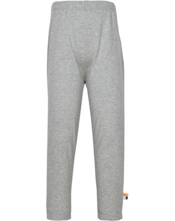 loud + proud Leggings BASIC grey 4121-gr GOTS