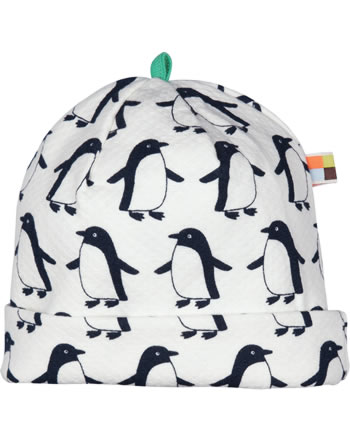 loud + proud Mütze Interlock PINGUIN midnight 7072-mi GOTS