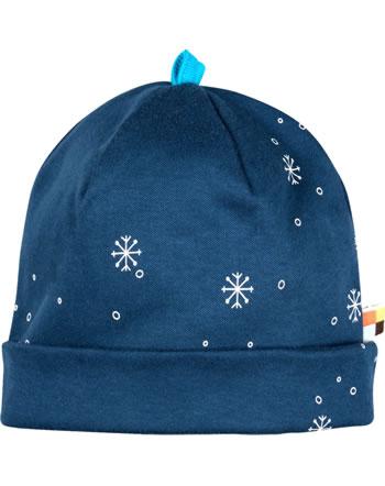 loud + proud Hat midnight SNOWFLAKES ultramarine 7087-ul GOTS