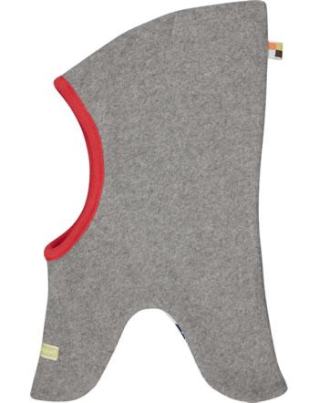 loud + proud Reversible hat fleece POLAR BEARS & ORCAS steel 7083-ste