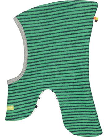 loud + proud Schlupf-Mütze zum Wenden Fleece jade 7055-jad GOTS