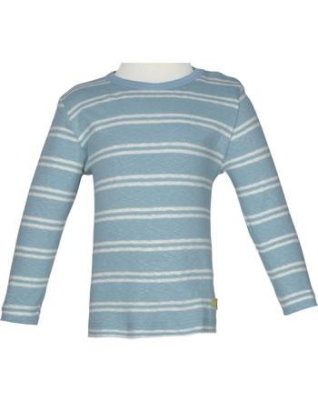 loud + proud Shirt manches longies avec lin SOUS LA MER lagoon 1067-lag GOTS