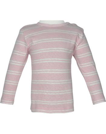 loud + proud Shirt manches longies avec lin SOUS LA MER rosé 1067-rs GOTS