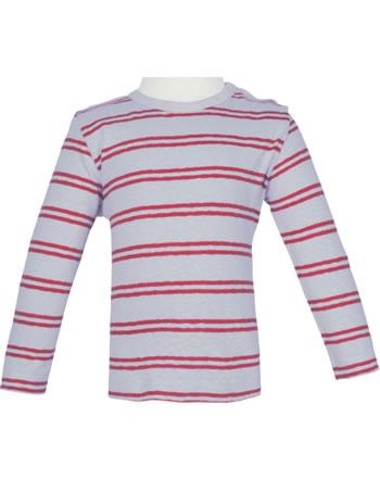loud + proud Shirt manches longies avec lin SOUS LA MER stone 1067-st GOTS