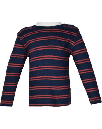 loud + proud Shirt manches longies avec lin SOUS LA MER ultramarin 1067-ul GOTS