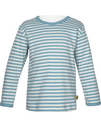 loud + proud Shirt manches longues Interlock SOUS LA MER lagoon 1063-lag GOTS