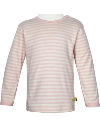 loud + proud Shirt manches longues Interlock SOUS LA MER rosé 1063-rs GOTS