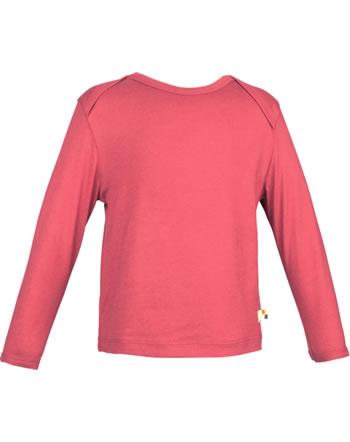 loud + proud Shirt manches longues Uni SOUS LA MER chili 1065-chi GOTS