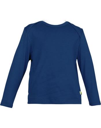 loud + proud Shirt manches longues Uni SOUS LA MER ultramarin 1065-ul GOTS
