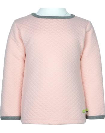 loud + proud Shirt Langarm WALDTIERE rosé 1080-rs GOTS